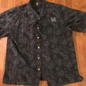 Gear xl silk blend Nebraska Huskers shirt (Y)